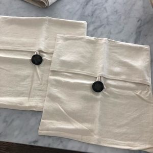 Pottery Barn pillow covers - 2